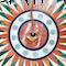 A Lalique Cecelia Fume Crystal Eye Pendant - image 1