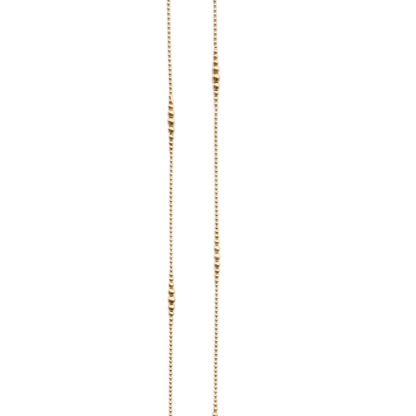An 1880s Gold Bobble Chain - image 1
