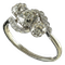 MM6495 Edwardian three stone diamond crossover ring - image 1