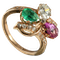 MM6181r Victorian trefoil ring - image 1