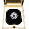 A 1910 Sapphire, Diamond and Platinum Ring - image 2