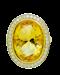 18K yellow gold 9.32ct Yellow Citrine and Diamond Ring - image 6