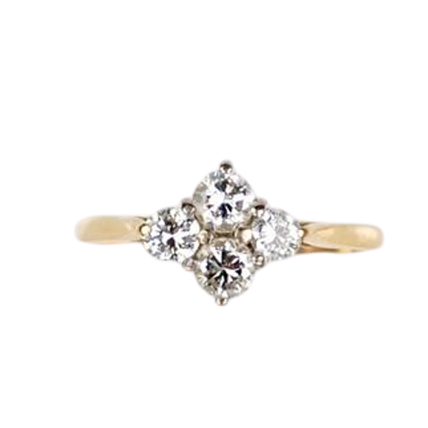 A Four Diamond Ring - image 1