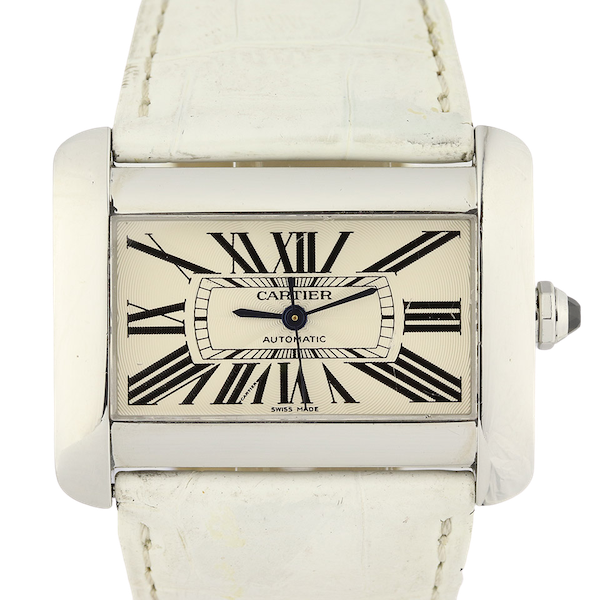 Cartier Tank Divan Automatic, Large Model, Stainless Steel - image 1
