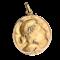 An Art Nouveau Gold and Diamond Pendant - image 1
