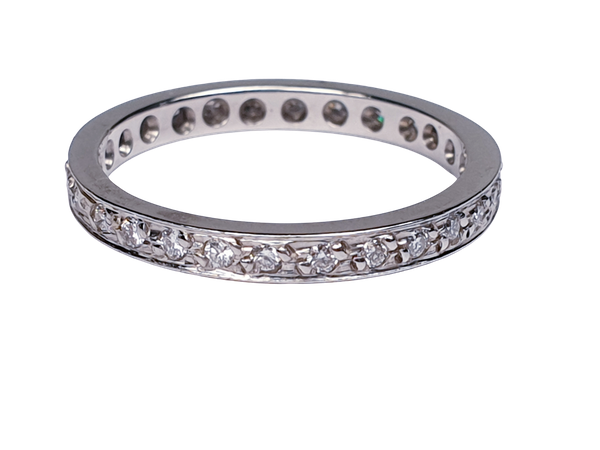 Diamond Full Hoop Eternity Ring  DBGEMS - image 1