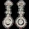 Diamond & Emerald Earrings - image 1