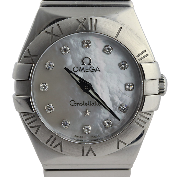 Omega Constellation Ladies Original Diamond Mother Of Pearl Dial - image 1