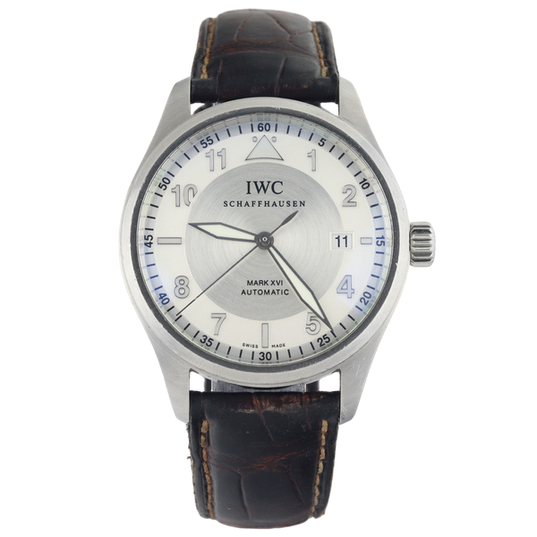 IWC Pilot Mark XVI Stainless Steel Automatic with IWC box - image 1