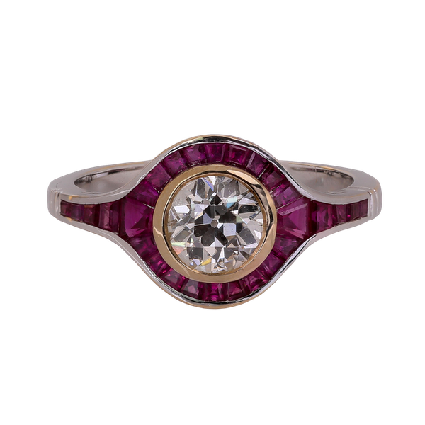 Art Deco ring - image 1