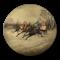 Date: circa 1880, Russian Lacquer Plate by Vichniakov, SHAPIRO & Co since 1979 - image 1