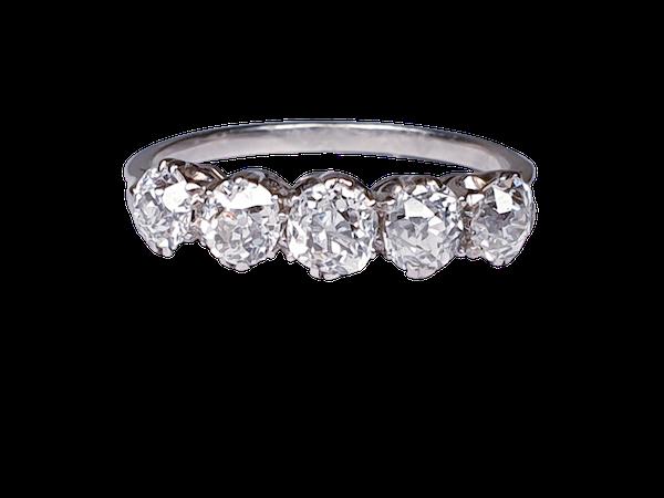 Five Stone Diamond Ring  DBGEMS - image 1