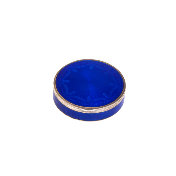 A silver and enamel box c. 1900 - image 1