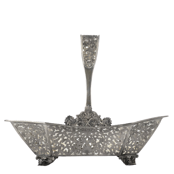Russian Silver Gilt Fruit Basket, Moscow 1838 - image 1