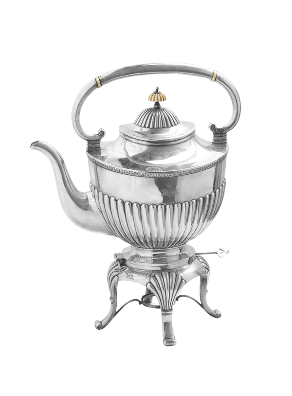 19th Century Russian Silver Kettle, Moscow c.1880, by Morozov - image 1