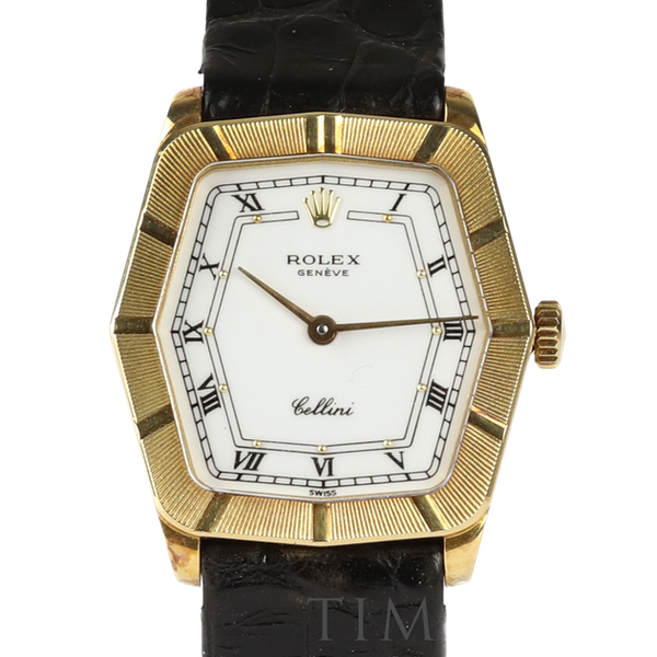 Rolex Cellini, 24mm, 18ct Yellow Gold, Manual Wind, Ladies - image 1