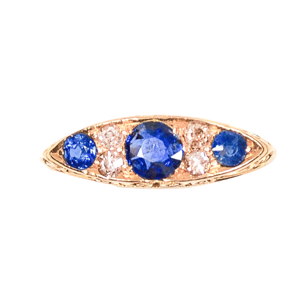 A Sapphire and Diamond Ring c.1903 - image 3