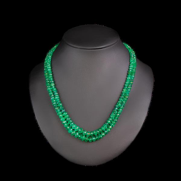 Emerald necklace - image 1