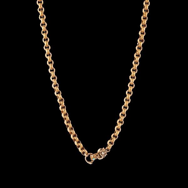 Georgian fine gold chain - image 1