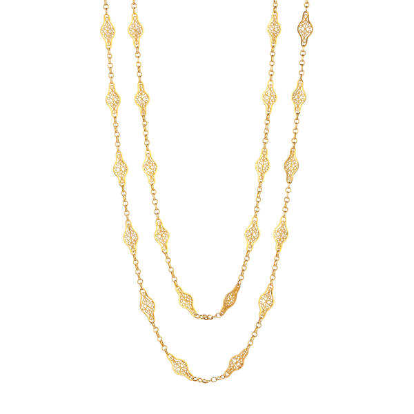 French gold guard chain - image 1