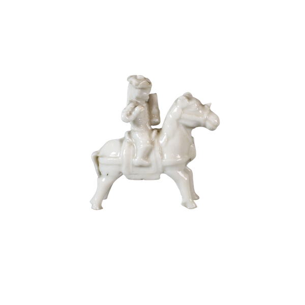 Chinese miniature blanc de chine figure - image 1