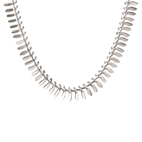 Georg Jensen sycamore silver necklace - image 1