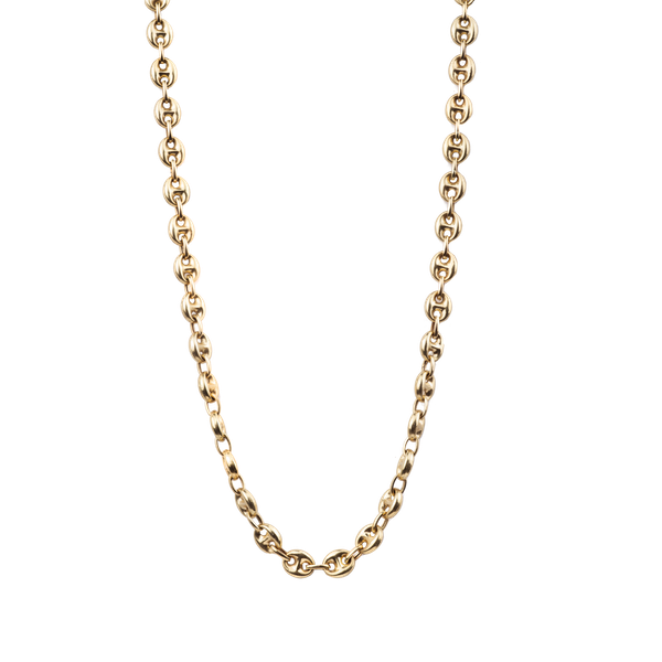 18ct Mariner link Gold Necklace. Spectrum Antiques - image 1