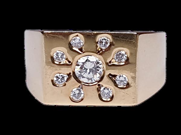 Diamond Sunshine Ring  DBGEMS - image 1