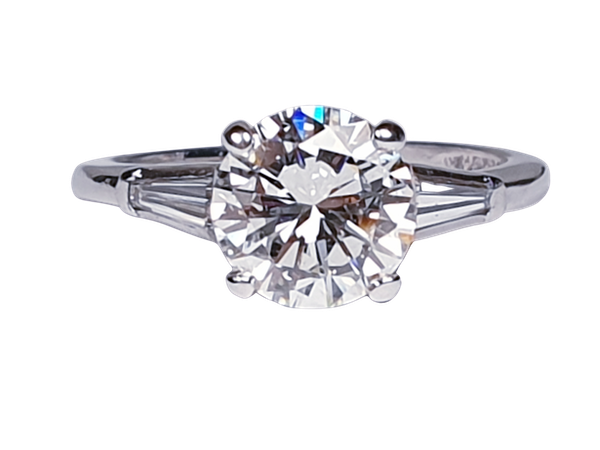 1.74ct Diamond Solitaire Ring  DBGEMS - image 1