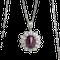Ruby and Diamond Pendant - image 1