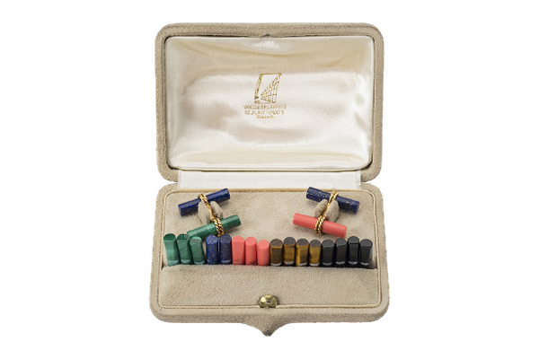 A fine collection of Cufflinks, Dress Sets and Tie Pins from Nigel Norman Fine Jewels. - image 1
