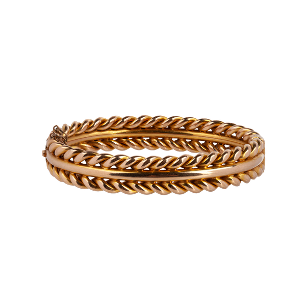 Victorian gold bangle - image 1