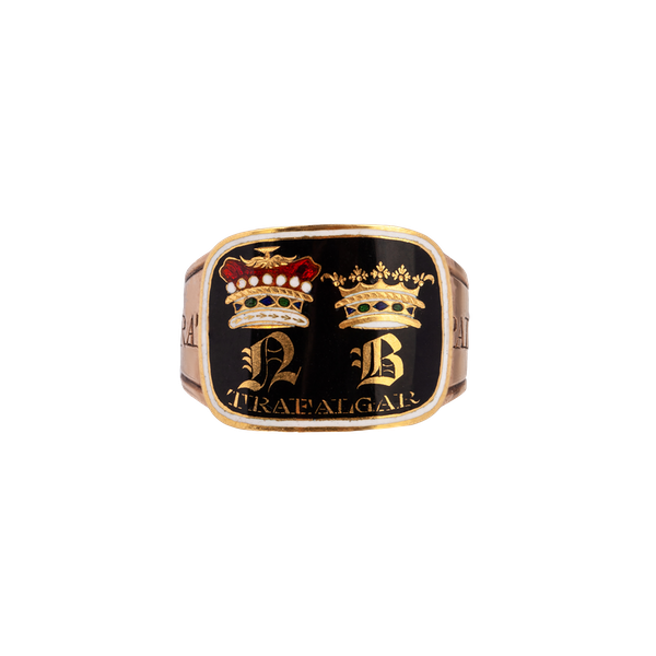 Admiral Lord Nelson memorial ring - image 1