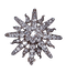 Antique diamond star brooch  DBGEMS - image 1