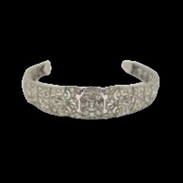 Art Deco Tapered Bracelet - image 1