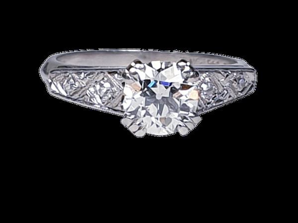 Old European Transitional Cut Diamond Ring  DBGEMS - image 6
