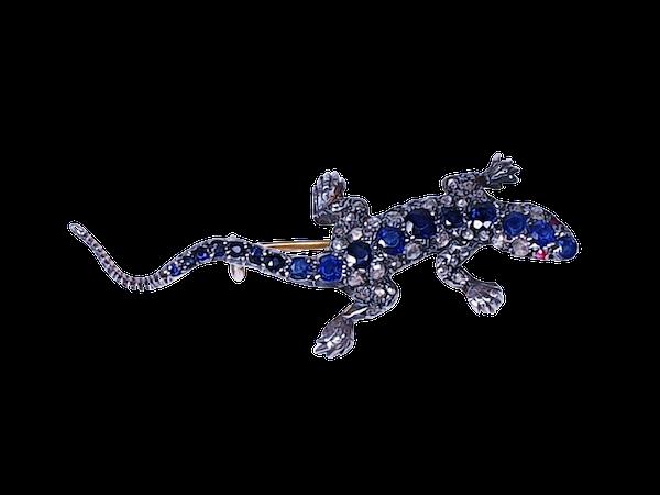 Sapphire and diamond salamander  DBGEMS - image 4