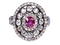 Super Antique Ruby and diamond dress ring  DBGEMS - image 5