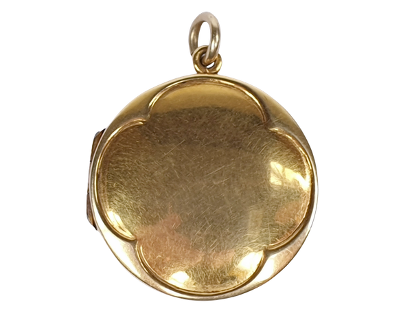 Antique 15ct gold locket  DBGEMS - image 4