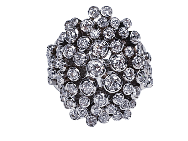 Diamond 'Bubbles' Dress Ring  DBGEMS - image 5