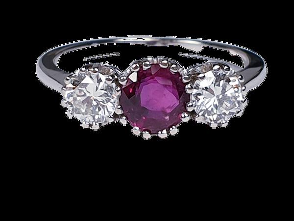 Ruby and Diamond Ring DBGEMS - image 5