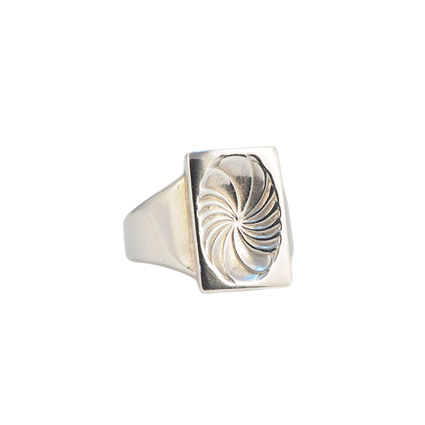 Date: post 1945 mark, Silver Ring by Georg Jensen, SHAPIRO & Co since1979 - image 9