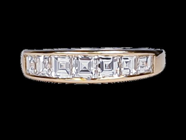 Half hoop diamond ring  DBGEMS - image 1