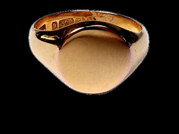 Gold Signet Ring  DBGEMS - image 5