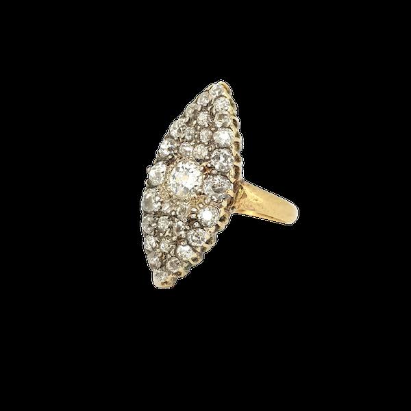 Edwardian diamond ring - image 1