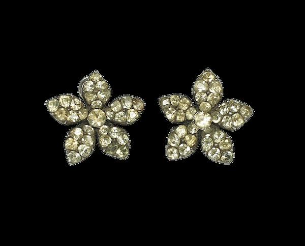 Amazingly Rare Chrysolite Jessamine Earrings  DBGEMS - image 1