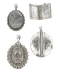 Victorian silver locket selection from Spectrum Antiques - image 1