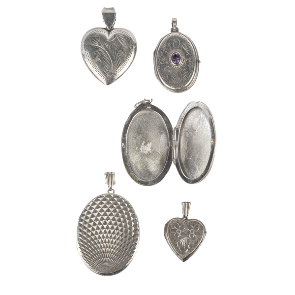 Locket selection in silver. Spectrum - image 1