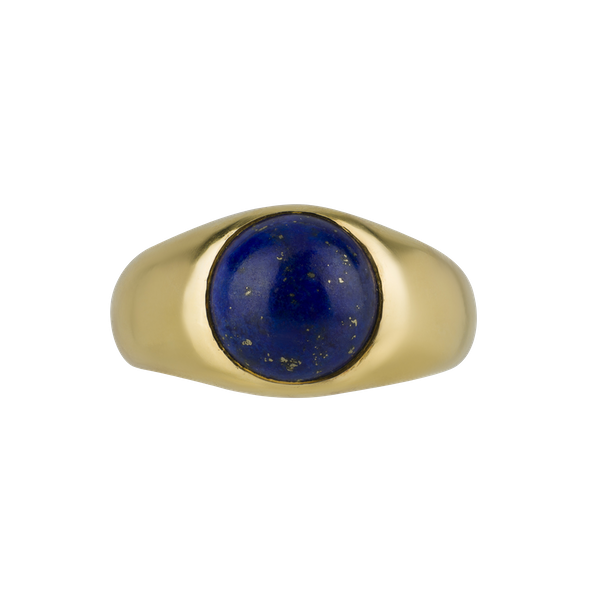 Kutchinsky: Cabochon Lapis Lazuli Ring - image 1