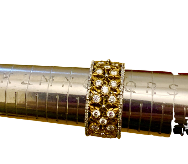Buccellati diamond band ring - image 1